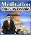 Busy Life Meditation Plr Ebook