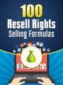 100 Resell Rights Selling Formulas PLR Ebook