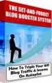 Set And Forget Blog Booster System MRR Ebook