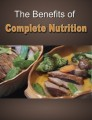 The Benefits Of Complete Nutrition Plr Ebook