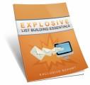 Explosive List Building Essentials MRR Ebook
