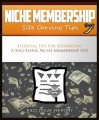Niche Membership Site Carving Tips MRR Ebook