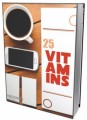 25 Vitamins PLR Ebook