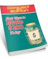 Make 100 Today Personal Use Ebook