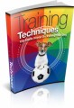 Training Techniques Plr Ebook