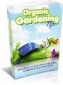 Organic Gardening Tips Plr Ebook