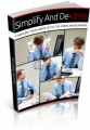 Simplify And Destress Plr Ebook