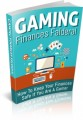 Gaming Finances Falderal Plr Ebook