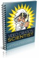 Video Creation Scientist PLR Ebook