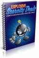 Explosive Scarcity Deals PLR Ebook