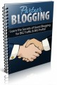 Partner Blogging PLR Ebook
