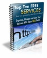 Top Ten Free Google Services PLR Ebook