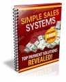 Simple Sales Systems PLR Ebook