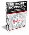 Authority Domination PLR Ebook