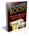 Commission Boost PLR Ebook