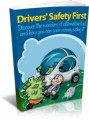 Drivers Safety First Plr Ebook