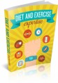 Diet And Exercise Expertise Plr Ebook