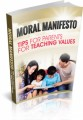 Moral Manifesto Plr Ebook