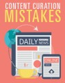Content Curation Mistakes PLR Ebook