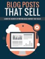 Blog Posts That Sell PLR Ebook