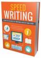 Speed Writing Plr Ebook