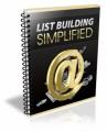 List Building Simplified Plr Ebook