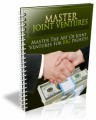 Master Joint Ventures Plr Ebook
