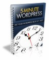 5 Minute Wordpress Plr Ebook