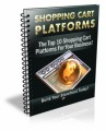 Shopping Cart Platforms Plr Ebook