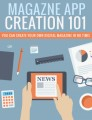 Magazine App Creation 101 Plr Ebook