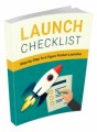 Launch Checklist MRR Ebook With Video