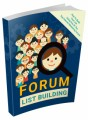 Forum List Building MRR Ebook With Video