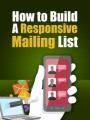 Build A Responsive Mailing List PLR Ebook