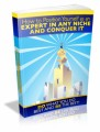 How To Position Yourself As An Expert In Any Niche And Conquer It Plr Ebook
