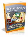 Internet Marketing Success Affirmations Plr Ebook