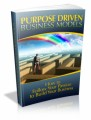 Purpose Driven Business Models Plr Ebook