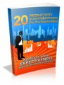 20 Productivity Boosting Methods For The Positive Mind Plr Ebook