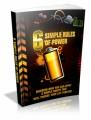 6 Simple Rules Of Power Plr Ebook