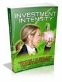 Investment Intensity Plr Ebook