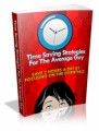 Time Saving Strategies For The Average Guy Plr Ebook